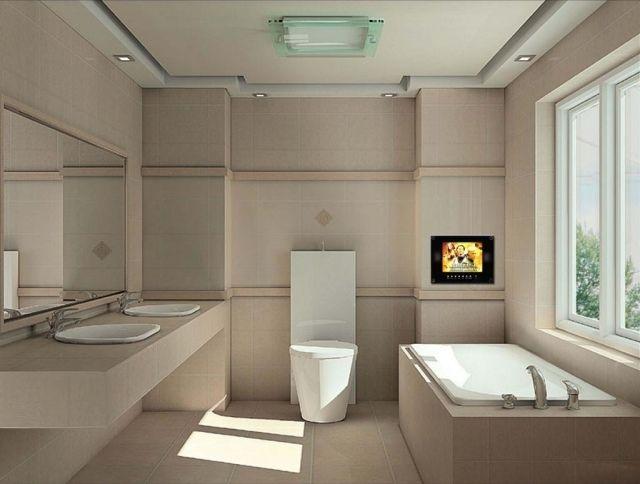 Salle de bain moderne - 30 idées originales espace de confort ...