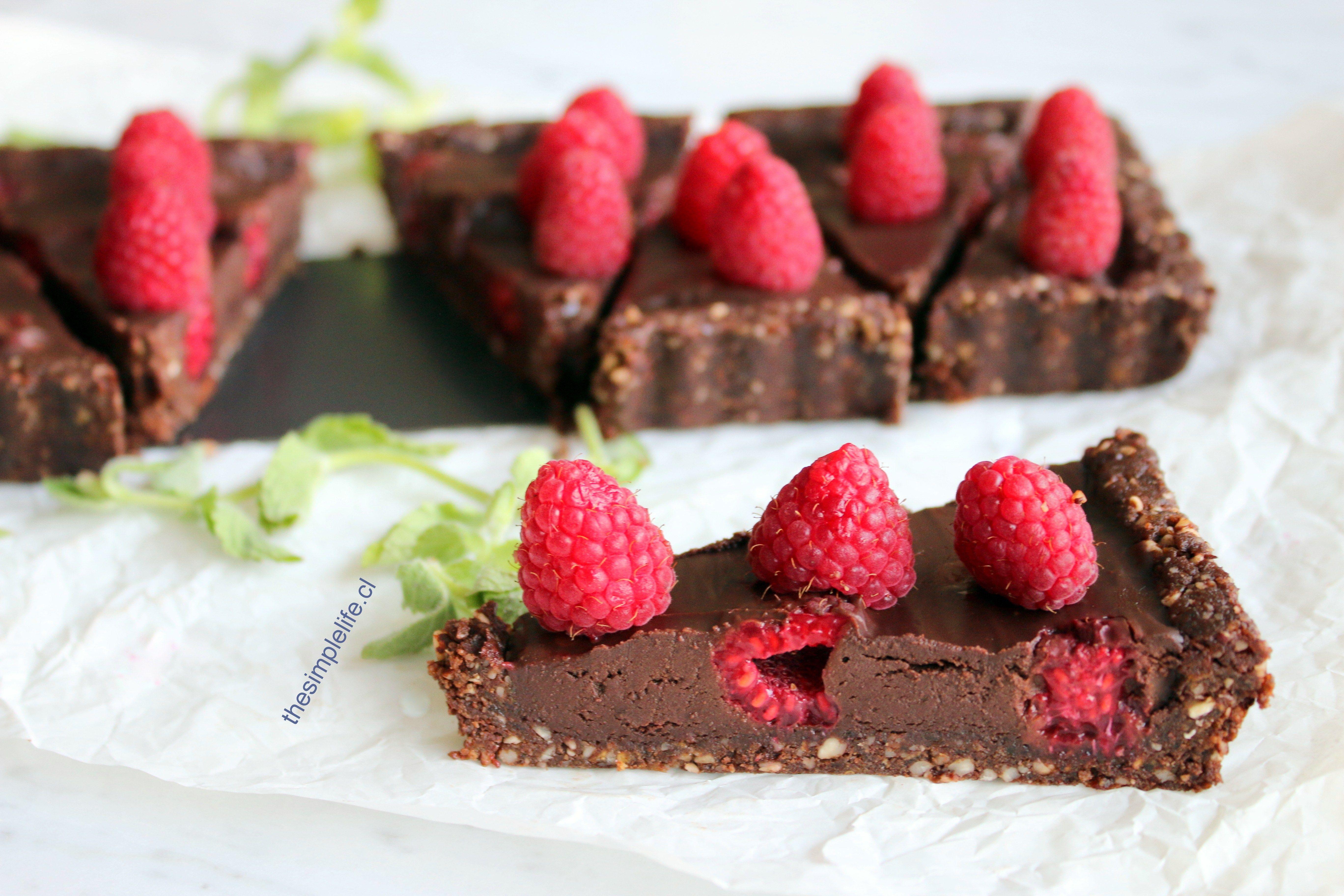Tartaleta de Avellana, Chocolate, y Frambuesa 12