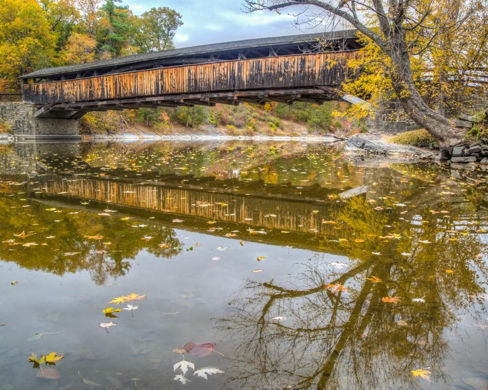Perrines bridge rifton new york by john fischer