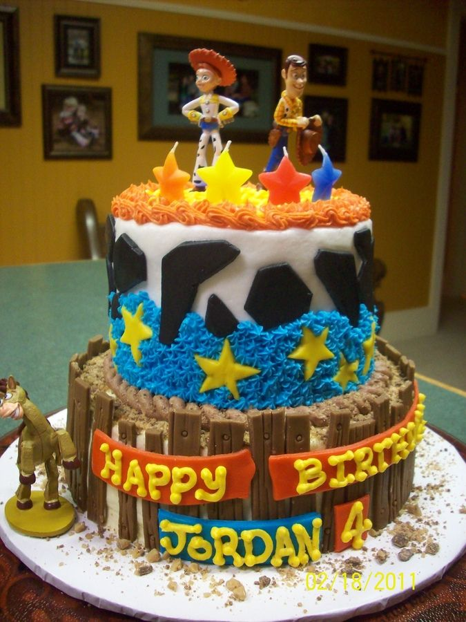 Toy Story Toy Story Birthday Cake Toy Story Cakes Birthday