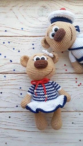 Photo of PATTERN Crochet Bear / Amigurumi Bear / Plush Bear
