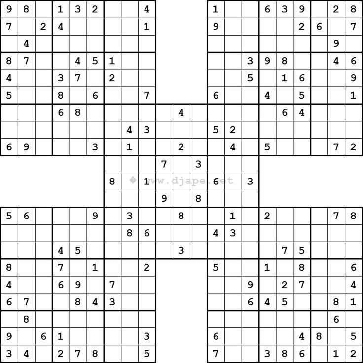 Irregular Sudoku Printable   mwb-online co
