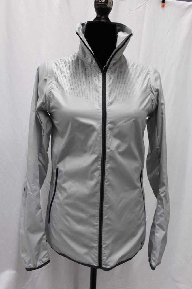 Nike Luxe Convertible Iridescent Reflective Hi Res Running Jacket