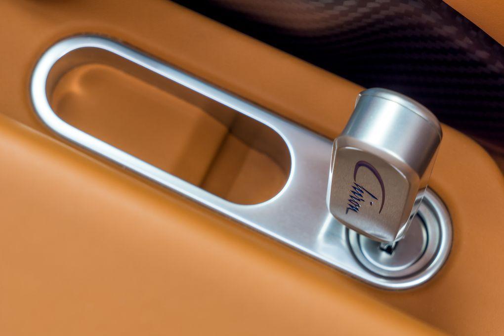 Bugatti chiron key