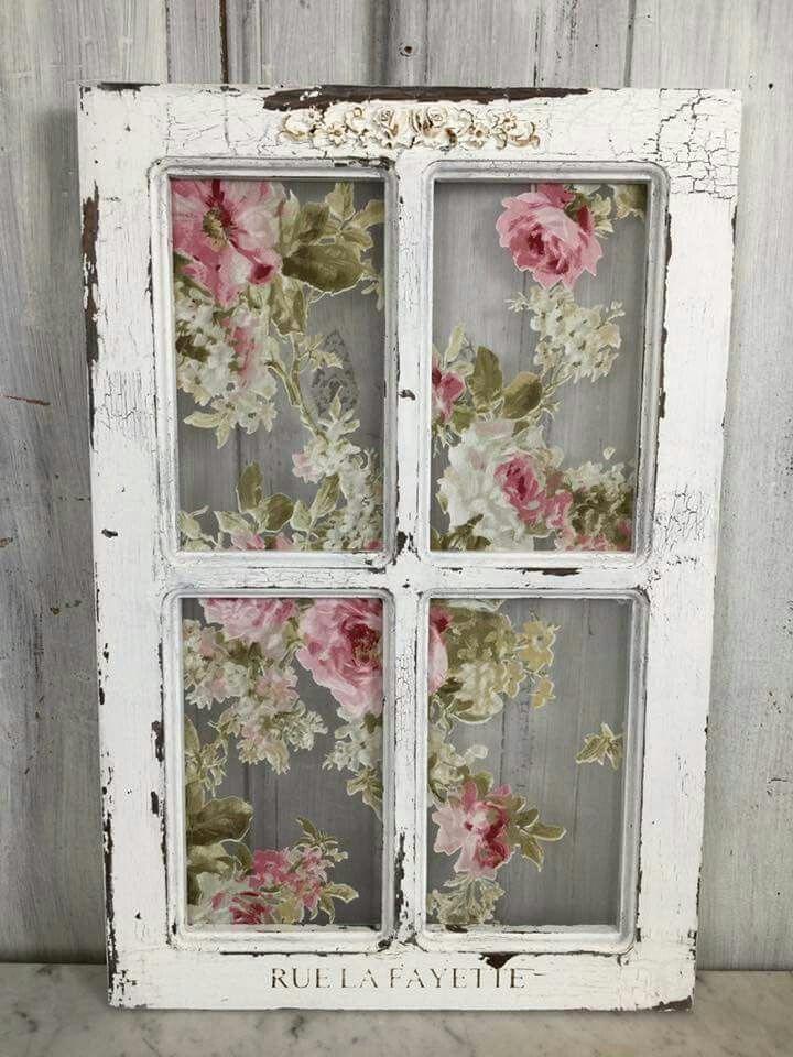 Shabby chic window shabbychicinteriorsfairylights - Simply shabby chic bedroom furniture ...