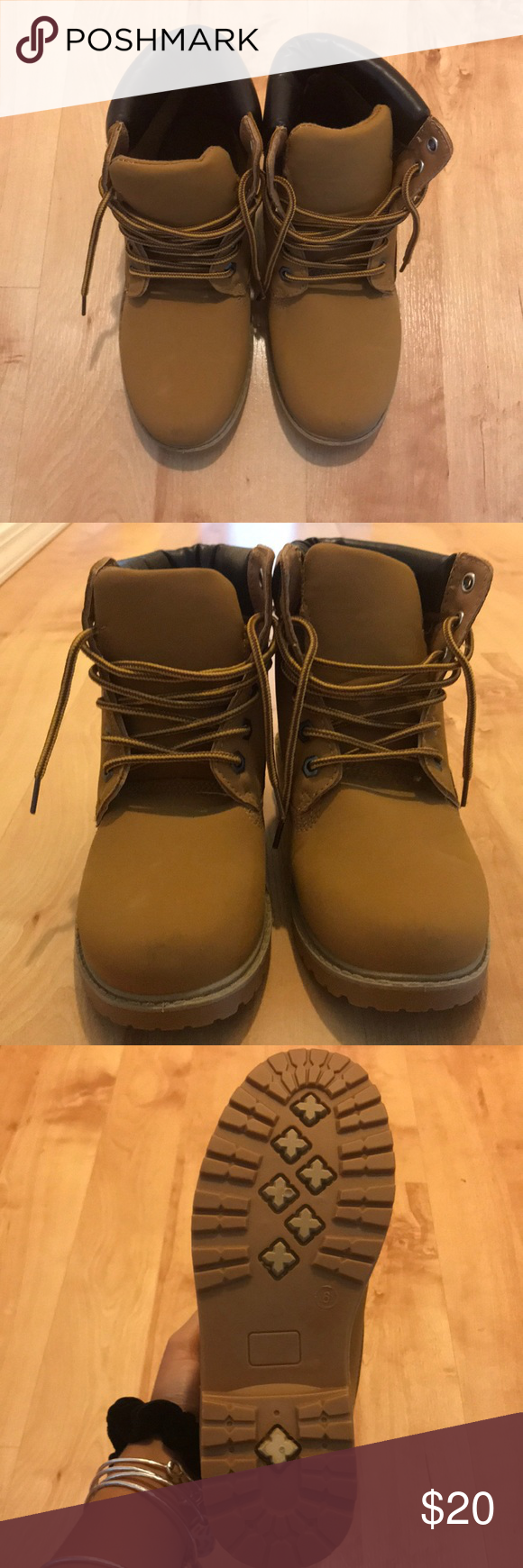 7762a49a5837 Fake timberlands brand new never used still has the tags on them shoes  ankle boots booties
