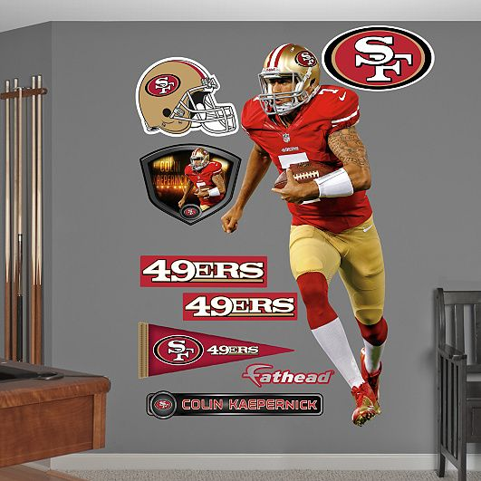 Colin Kaepernick San Francisco Ers San Francisco Ers - Yadier molina wall decals