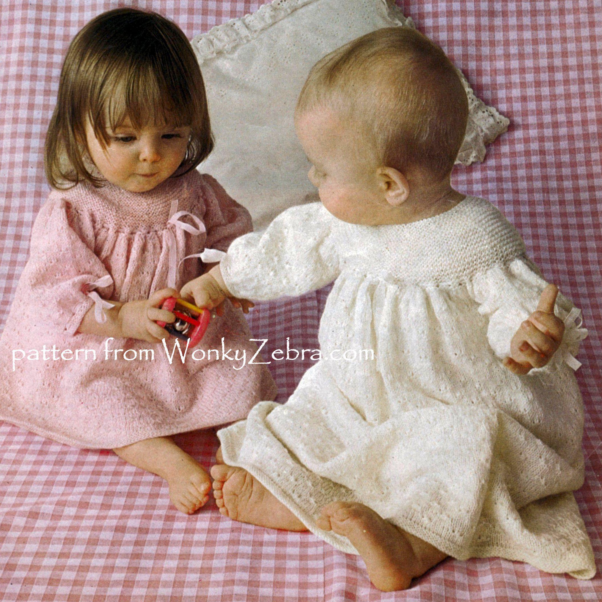 Wonkyzebrababy B086 Baby Christening Dress Baby Clothes