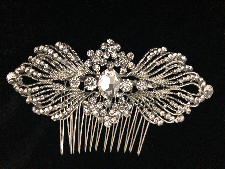 High Girls Crystal Diamond Hair Clip Hairpin Hair Accessories 4H