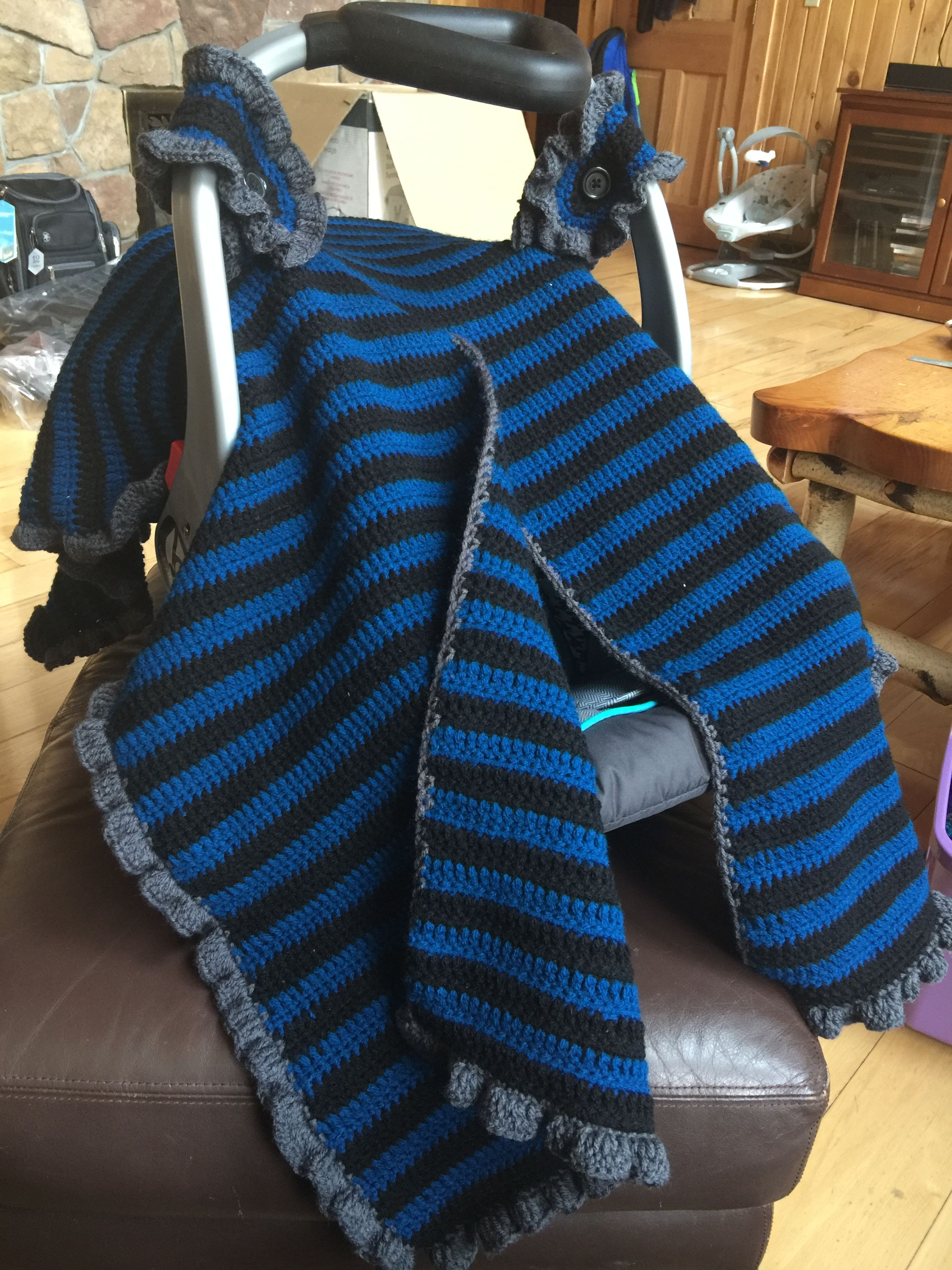 Crochet Car seat Cover | My Crochet Projects | Pinterest