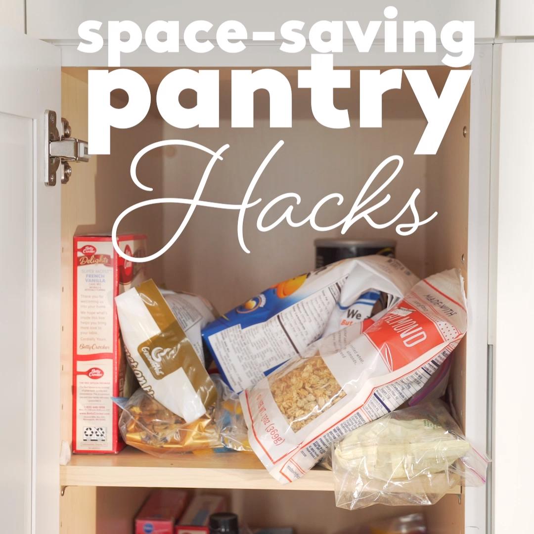 Pantry Organizing Hacks