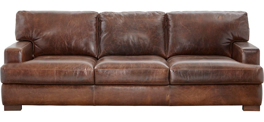 Bari sofa art van home sofa genuine leather sofa van