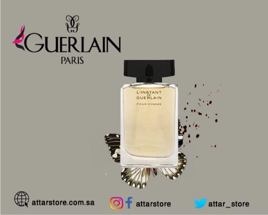 Guerlain L Instant De Guerlain Pour Homme عطر خشبي لـ الرجال تتكون م قدمته من اليانسون والياسمين والجريب فروت وال Perfume Perfume Bottles Guerlain