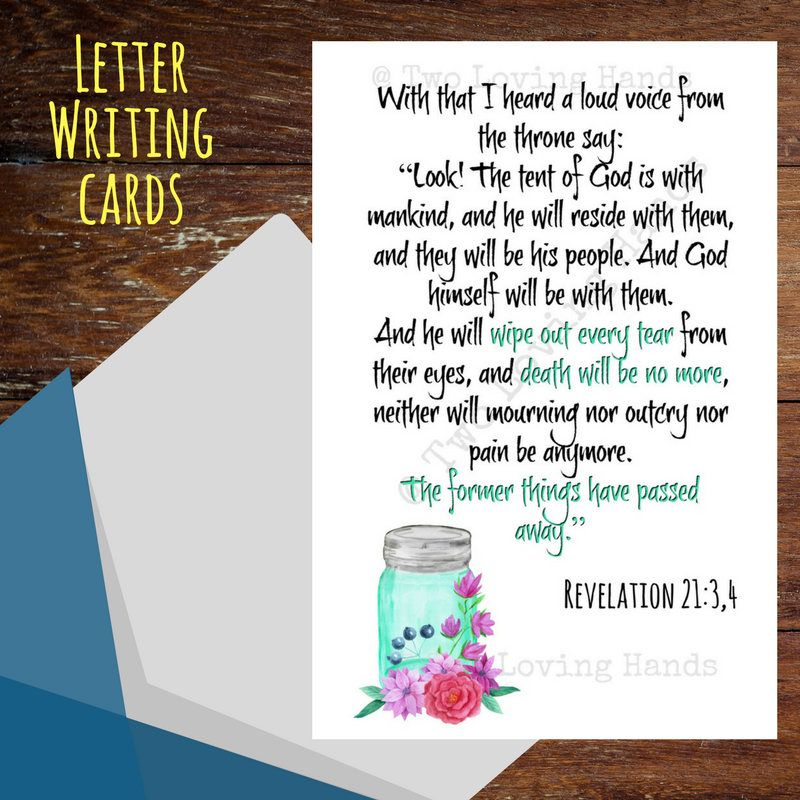 revelation 2134 jw pioneer jw gift jw letter writing minitry by twolovinghands on etsy