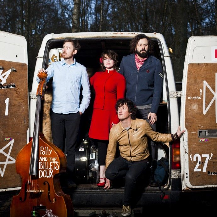 Polly & The Billets Doux Announces Spring UK Tour 2015WithGuitars