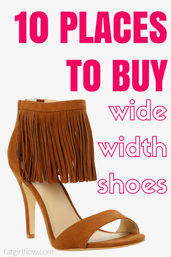 8b195d1fc40 10 Places To Shop For Wide Width Shoes - fatgirlflow.com