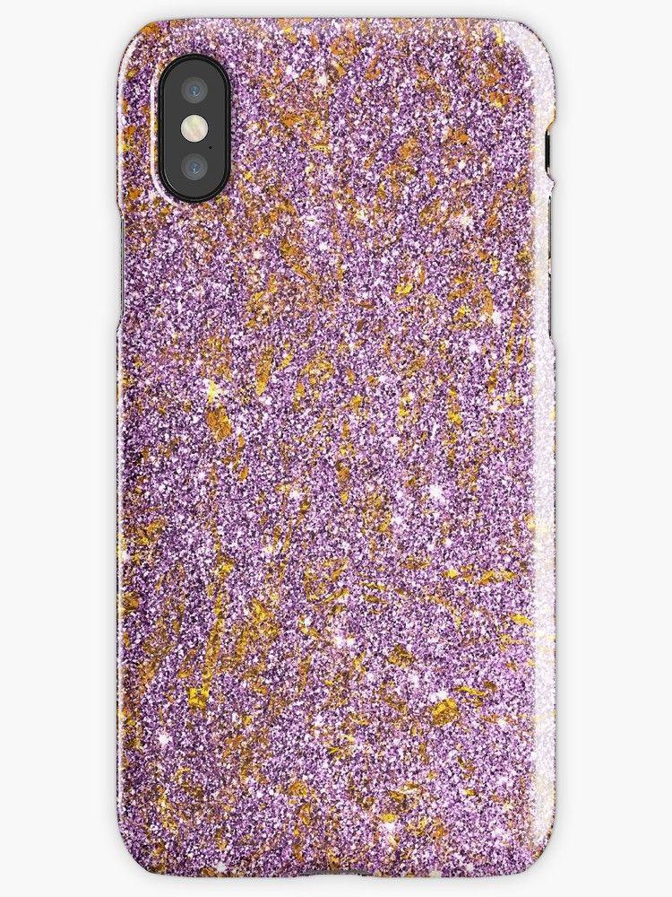 Bright shiny beautiful elegant violet gold and diamond
