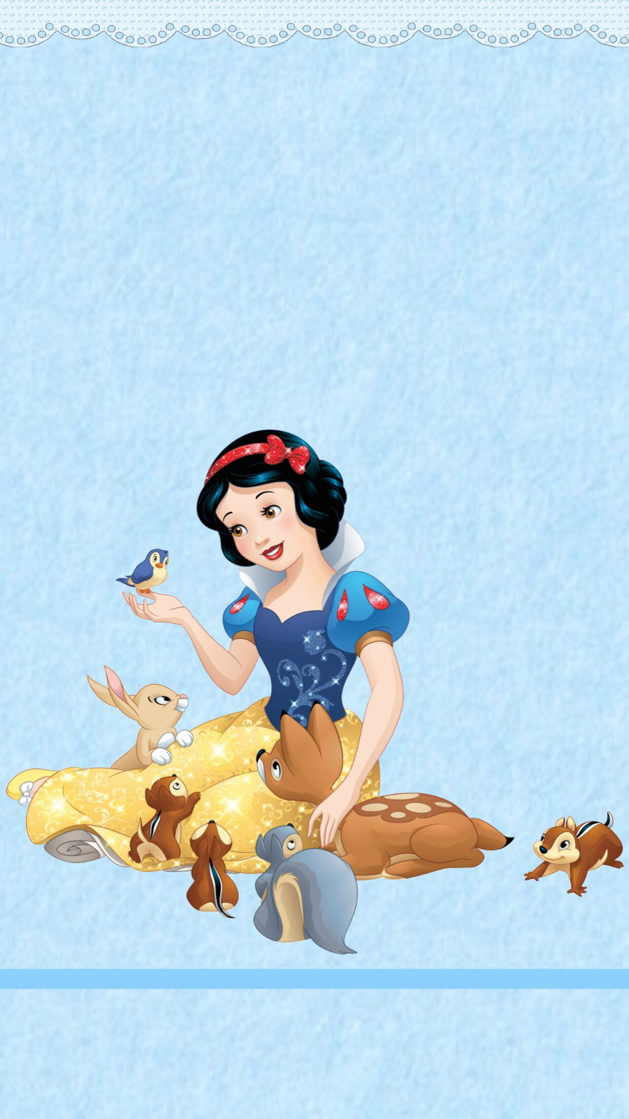 Pin De Kelly Kline En Wallpapers By Me Blancanieves Animales Del Bosque Animales