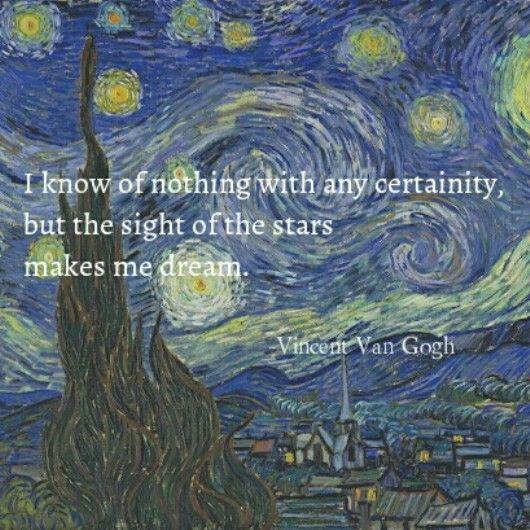 Vincent Van Gogh Quote Van Gogh Quotes Vincent Van Gogh