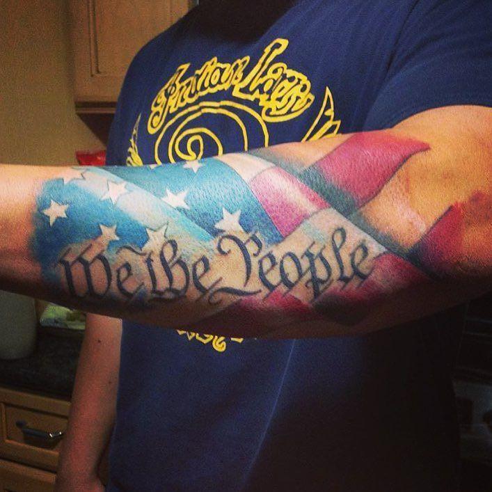 #badass #wethepeople forearm #tattoo from #gunslinger @s ...