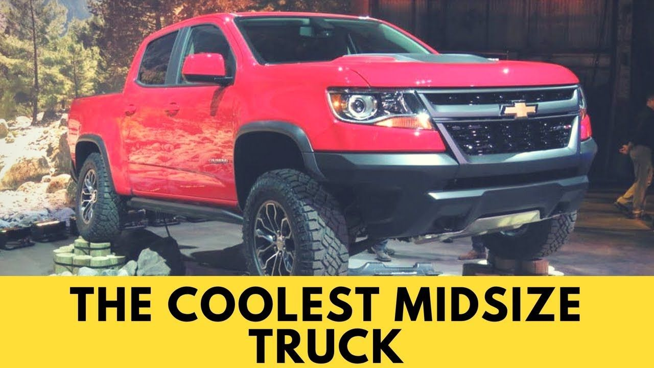 Review The Coolest Midsize Truck Chevy Colorado Zr2 Chevy