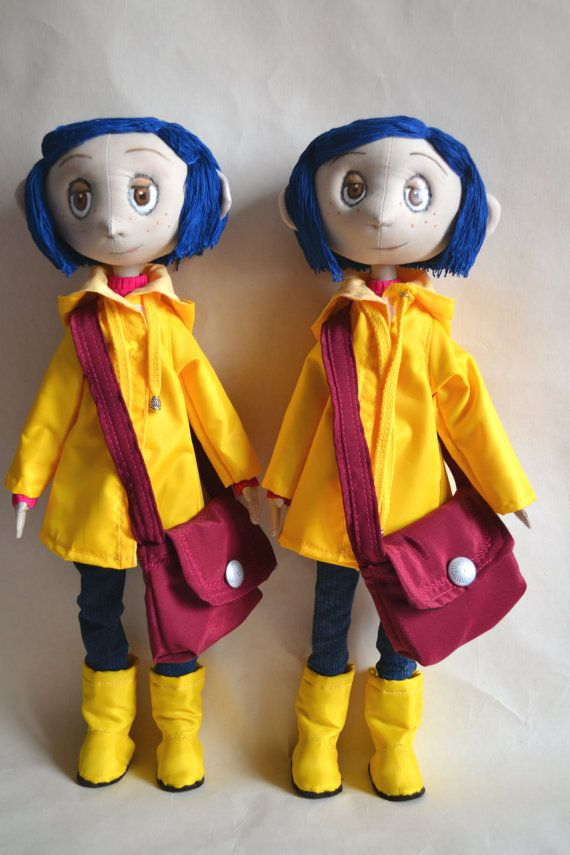 Coraline Doll Custom Made I Will Do A Similar Doll By Elenadolls 172 00 Another Beautiful Example I Re Coraline Doll Handcrafted Dolls Doll Plushies