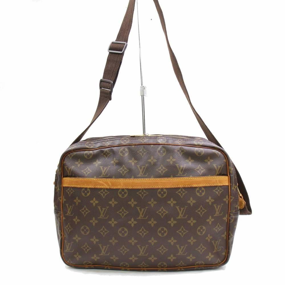 864400074c7e Authentic Louis Vuitton Shoulder Bag Reporter GM M45252 Browns Monogram  271976  fashion  clothing