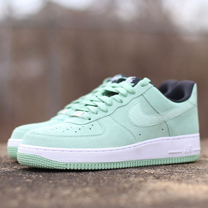The Nike Women's Air Force 1 '07 in green suede is available now on  CityGear.com