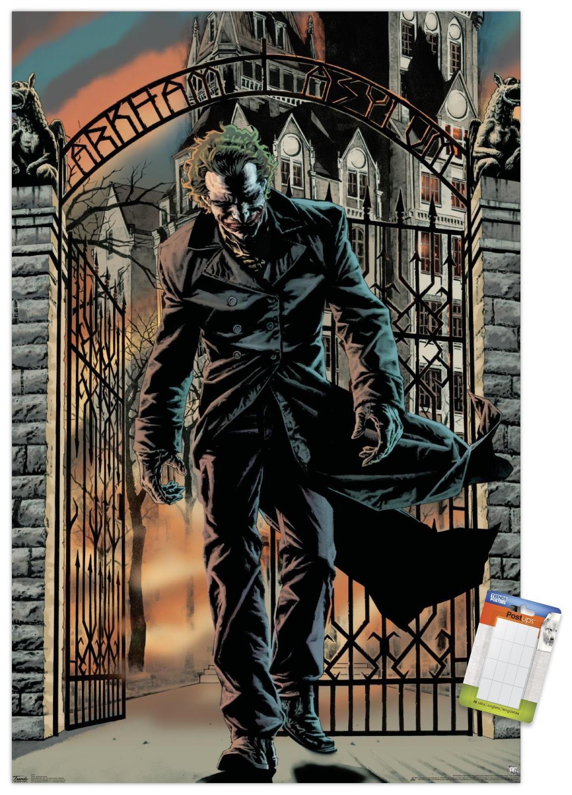 dc comics the joker arkham asylum