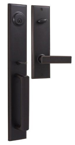 Weslock 06691 1 002d Woodward Ii Entry Handle Oil Rubbed Bronze