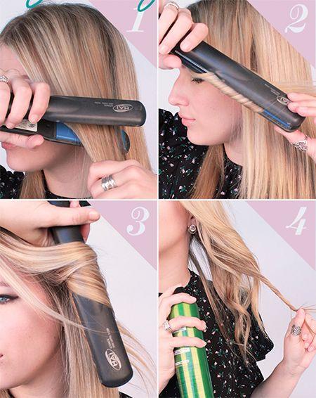 Como planchar el cabello corto rapido
