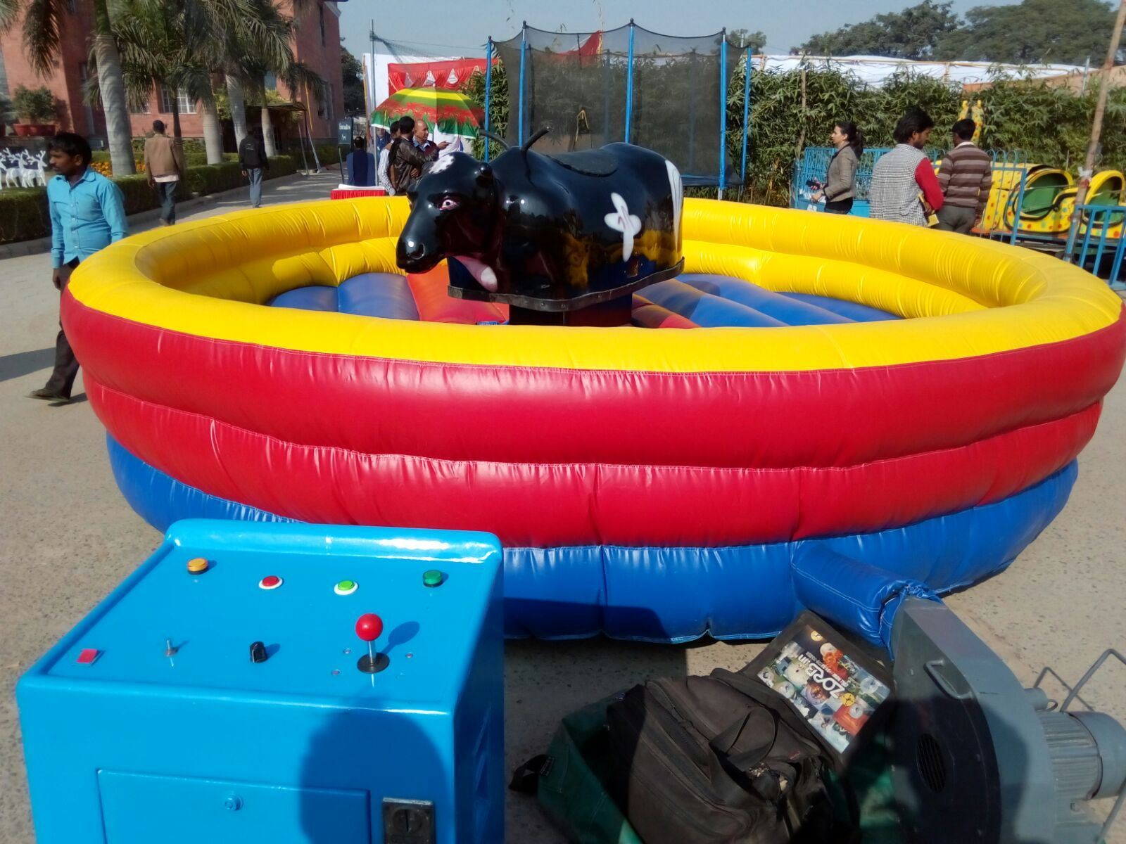 Book the macanical bull ride for your nest eventbull ride