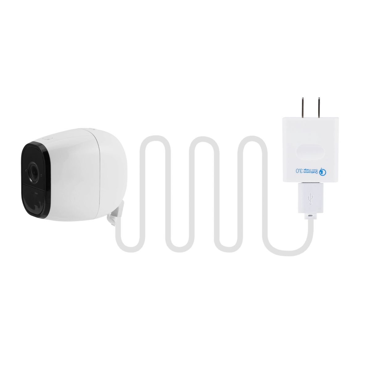 Weatherproof Outdoor Power Cable for Arlo Pro with Quick Charge 3.0 Adapter 16ft