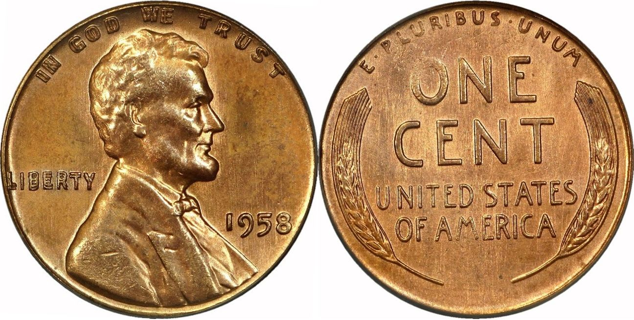 The 1958 D Wheat Penny was the final mint edition of the