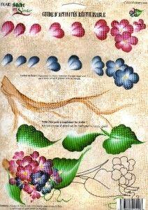 Donna Dewberry Reusable Teaching Guide RTG Hydrangea | eBay