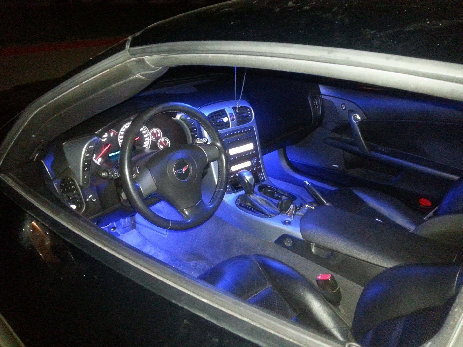 9 Pcs C6 Corvette Interior Led Kit
