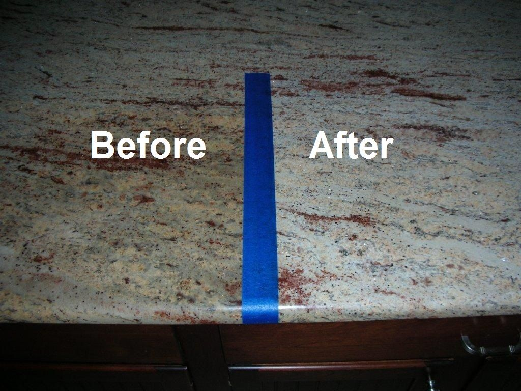 Remove Stains From Granite With Granite Poultice Cleaning