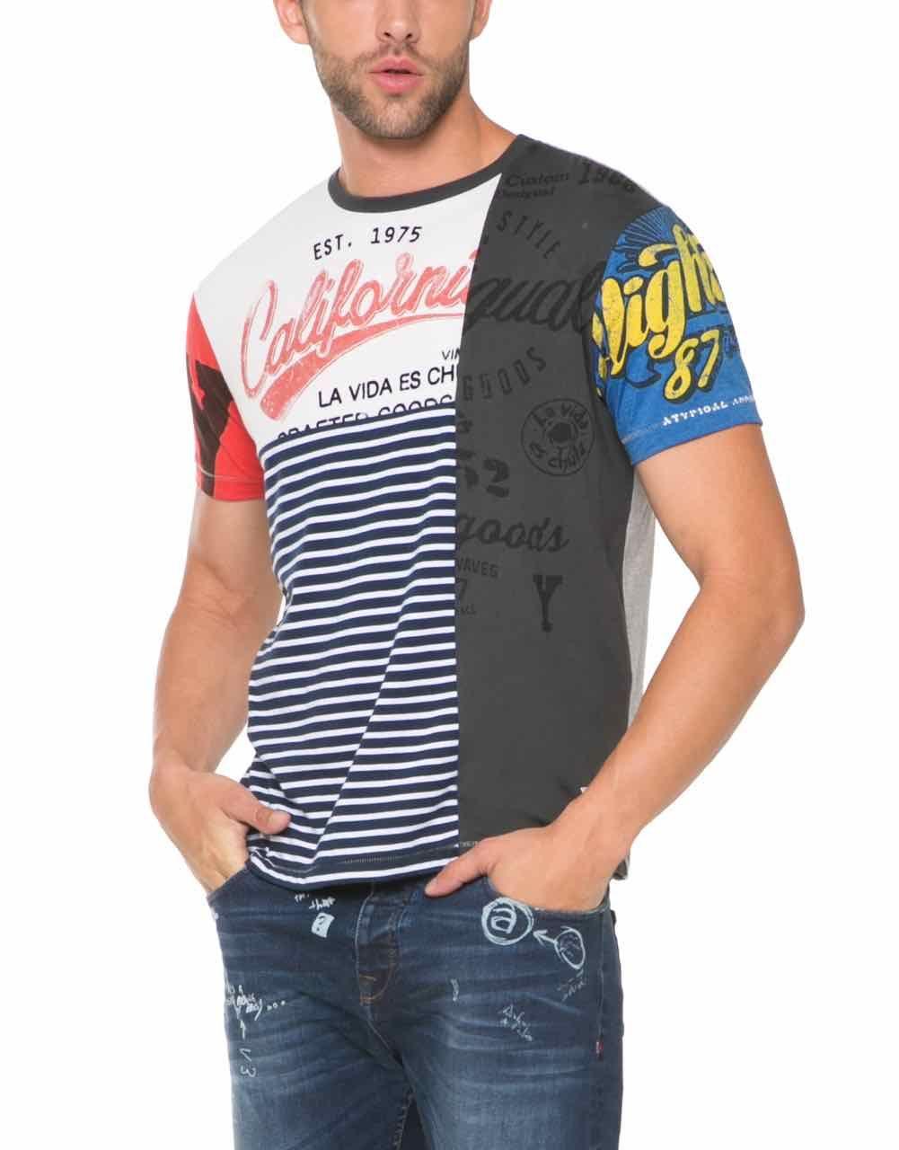 ec241285f5601 Desigual es la más famosa tienda de moda en España. La ropa para hombre es  muy fea. Baldvin og Bjarni