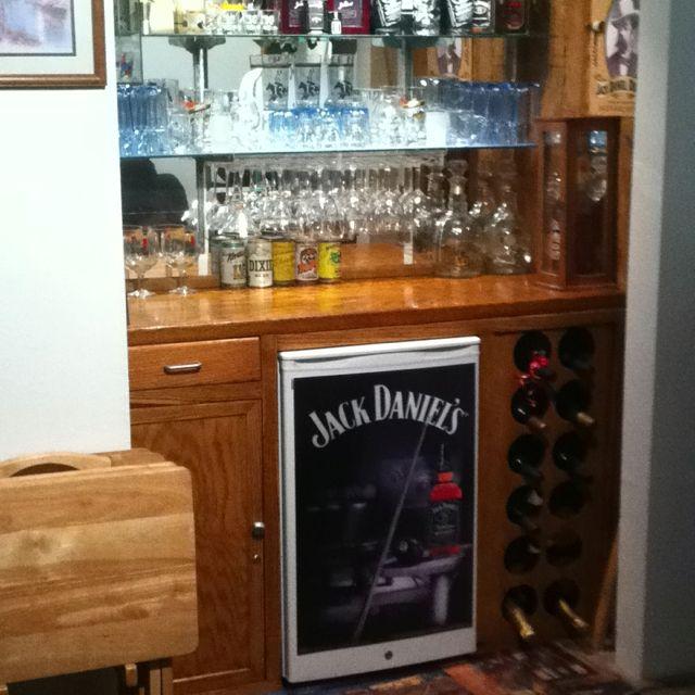 Change an unused closet to a dry bar! Bar nook, Closet