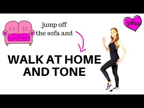 19 walk at home  walking workout and full body toning