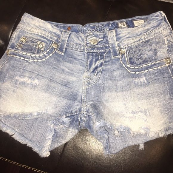 Miss me shorts Size 26 Miss Me Shorts Jean Shorts
