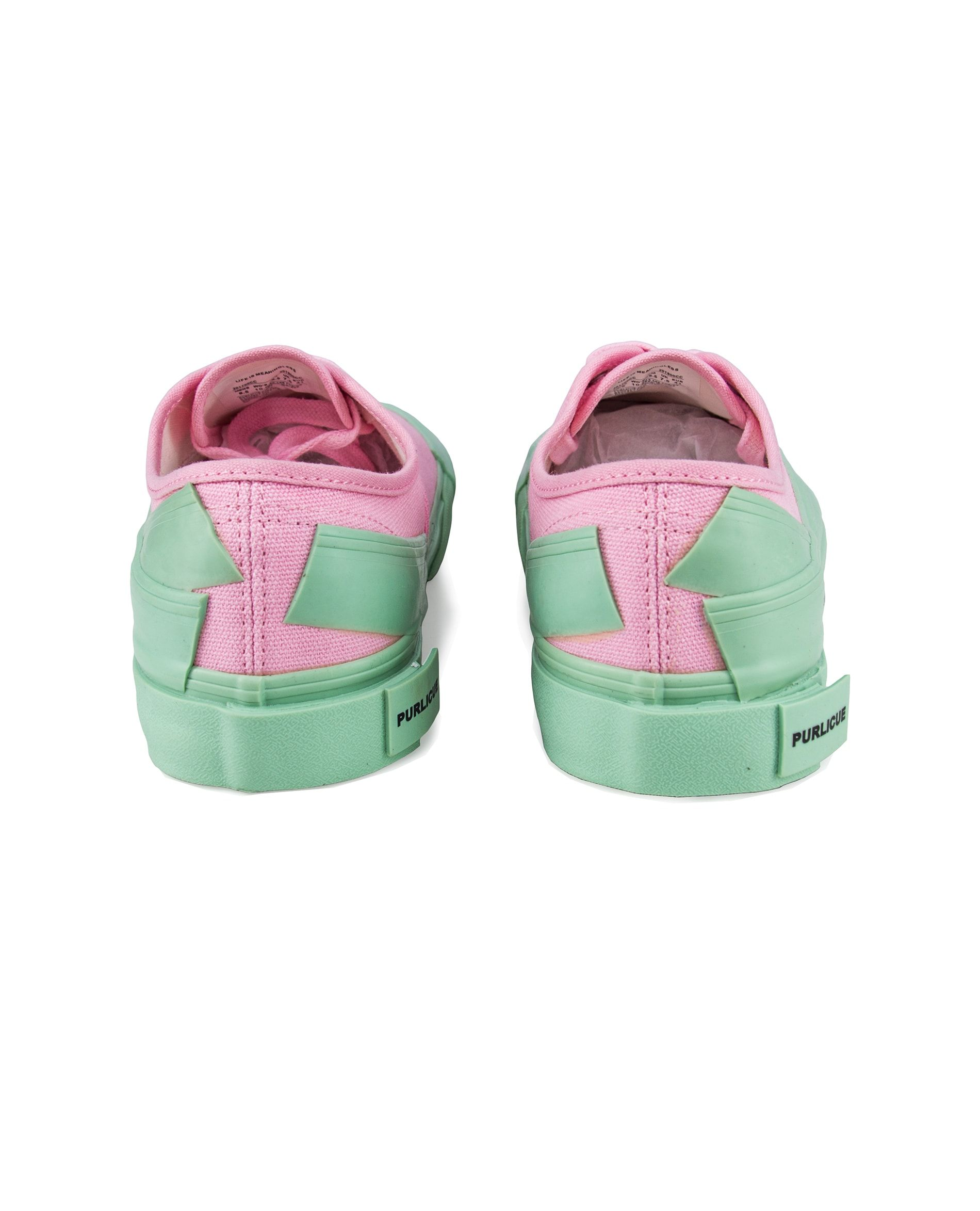 0e3d8300b258 PURLICUE -  Life is Meaningless  Pink Sneaker