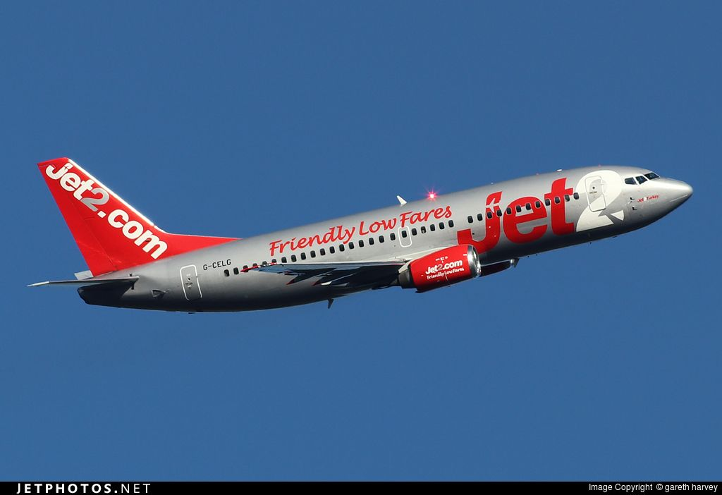 Photo of G-CELG Boeing 737-377 by gareth harvey