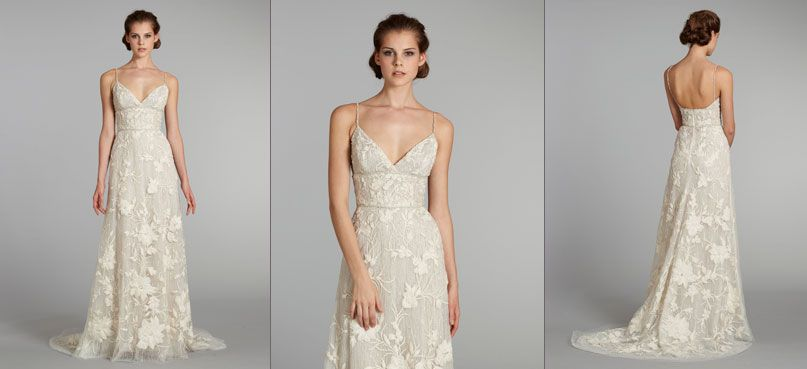 1000  images about Wedding Dresses - with straps on Pinterest ...