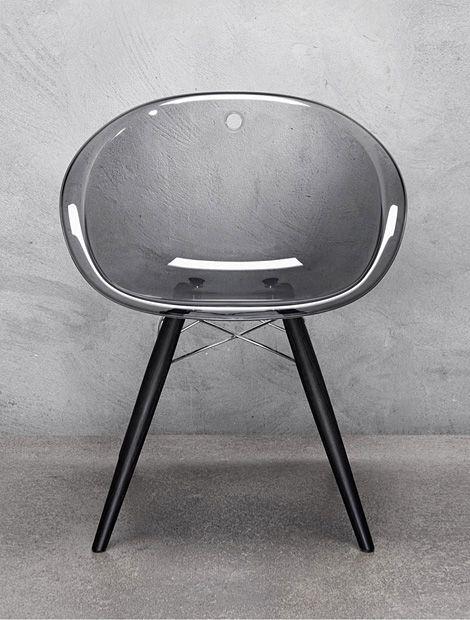Gliss Chair In Black Chair Stuhl Chaise Design Claudio Dondoli And Marco Pocci Pedrali Furniture Design Modern Furniture Chair Chair Design