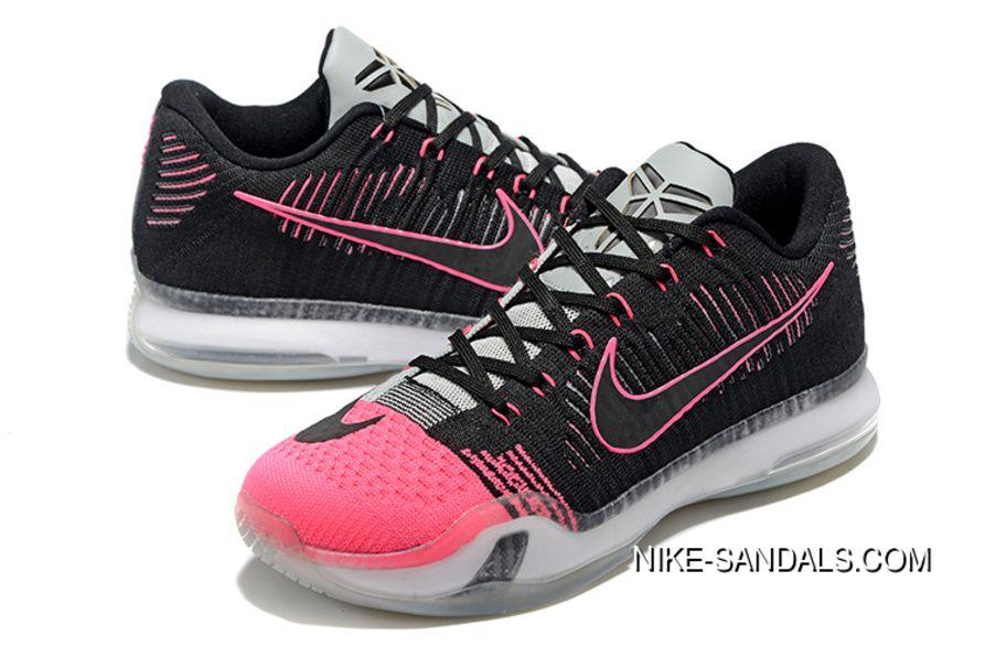 41ae81ad2d16 Nike Kobe 10 Black Pink Kobe 10 Low Christmas 747212-010 Online ...