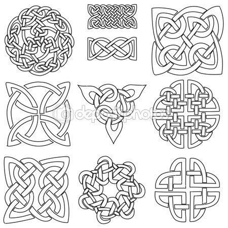 Símbolos celtas — Ilustración de stock #22583731 … | Pinteres…