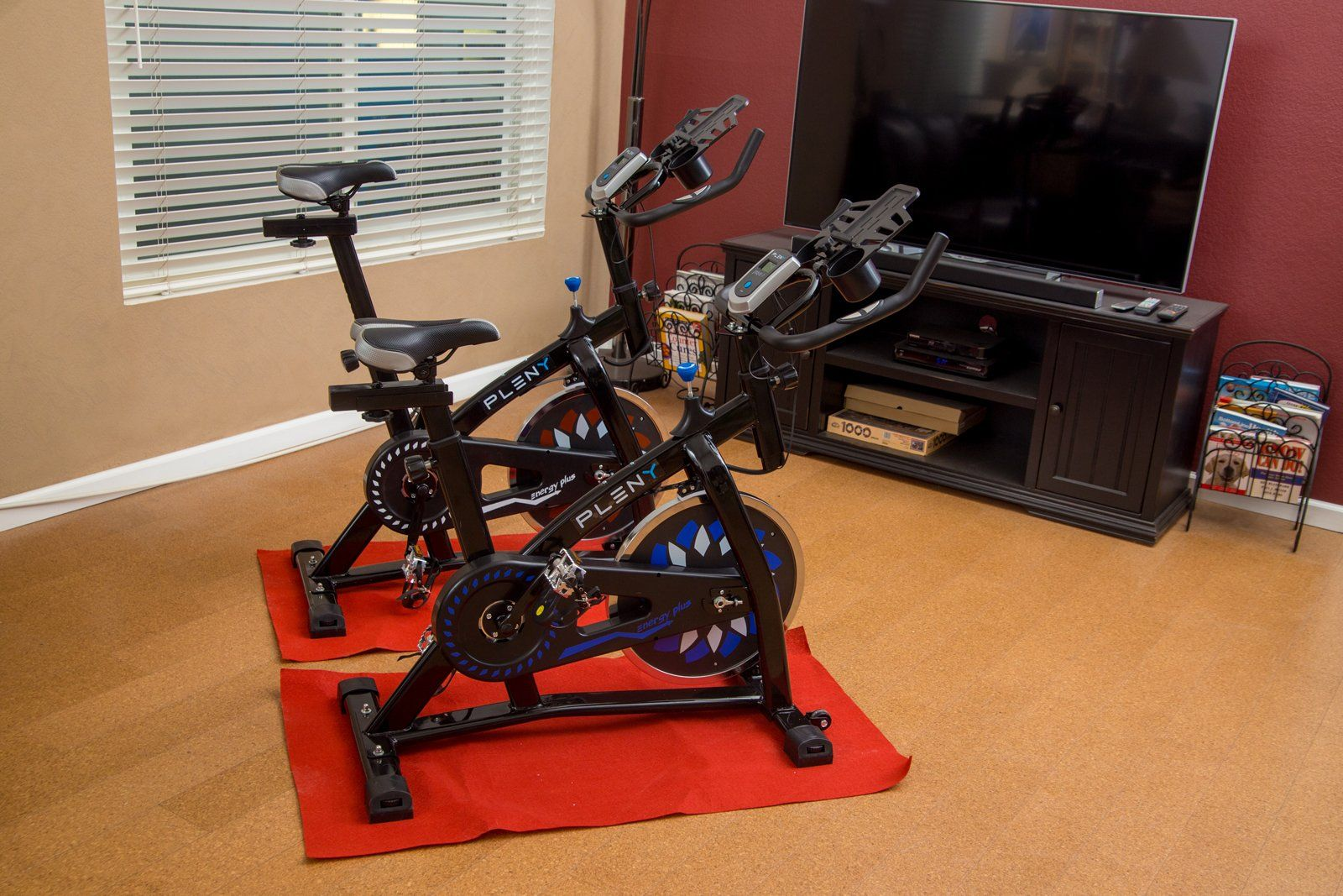 Pleny Indoor Stationary Cycle Bike For Tall People With