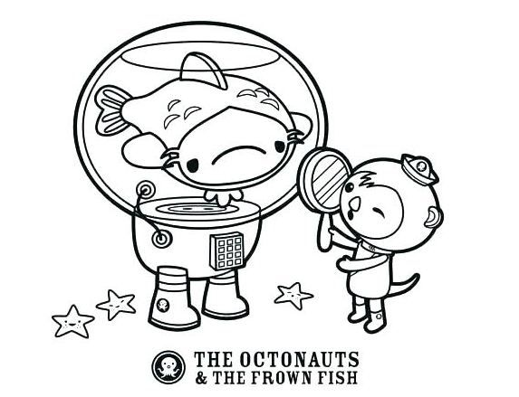 Octonauts Coloring Page Free