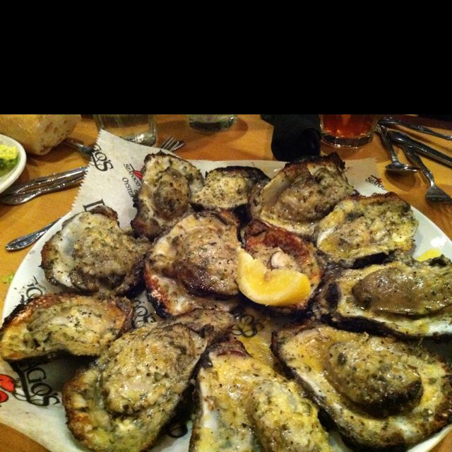 My very favorite food: Charbroiled Oysters from Dragos